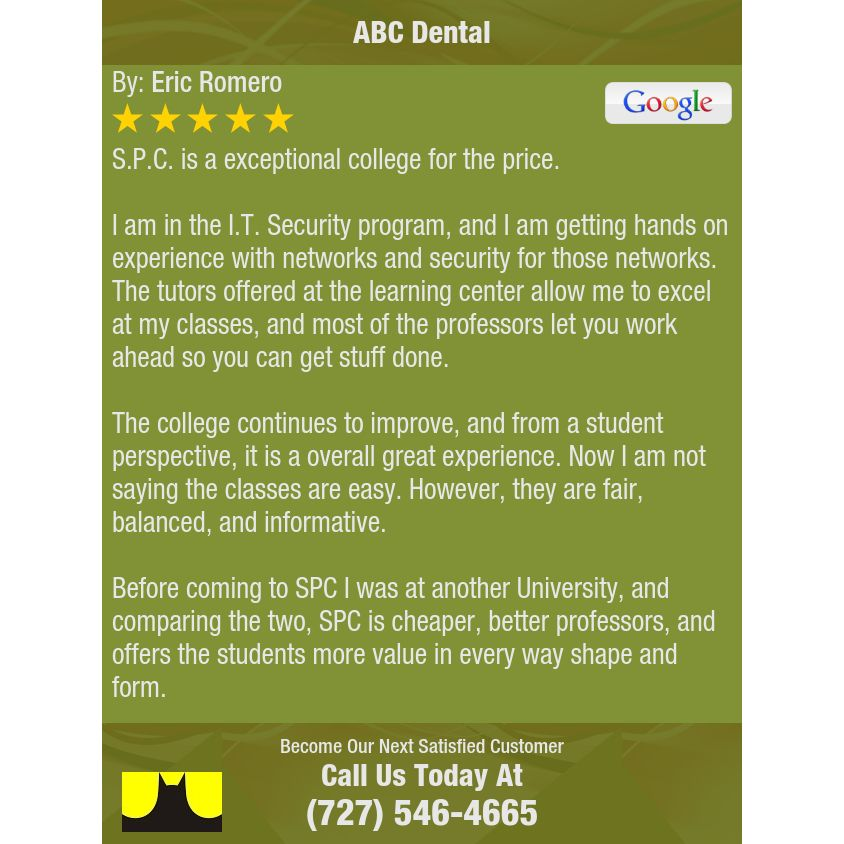 S.P.C. is a exceptional college for the price.  I am in the I.T. Security program, and I...
