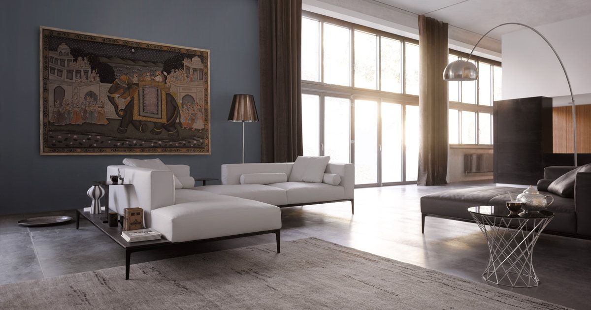 Jaan Living Sofa From Walter Knoll Designed By Eoos