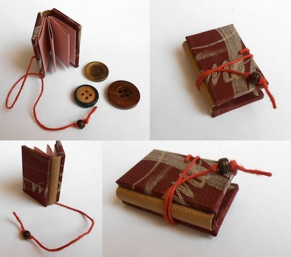 Handmade Books under 10cm