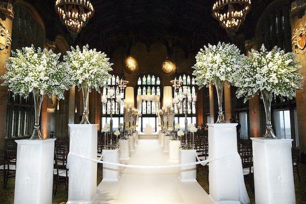 Unique Décor Details For Indoor Ceremonies