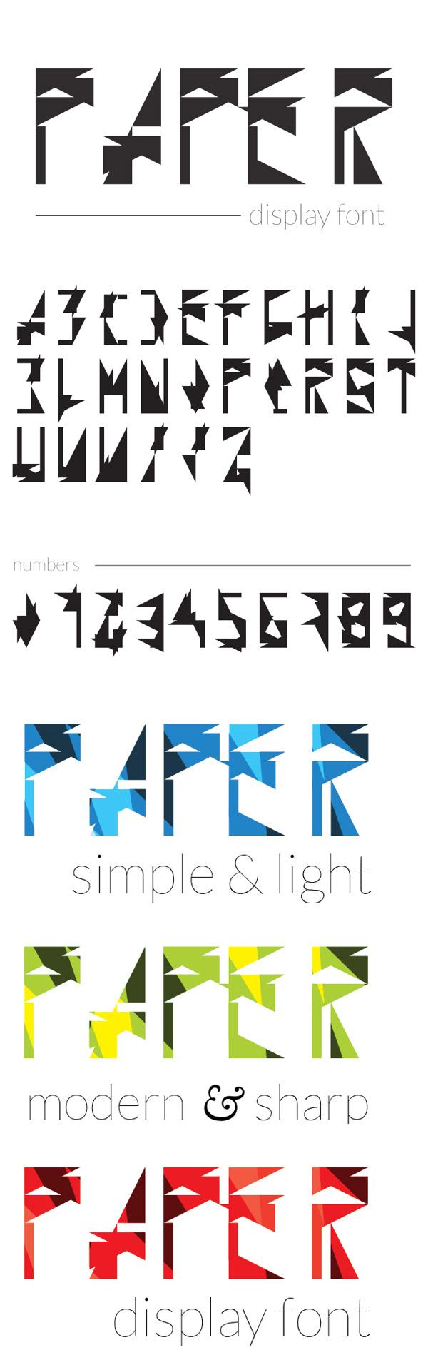 Paper - Free Font