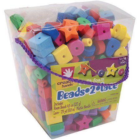 Fibre Craft Foam Kit Beads 2 Lace Multicolor Products Foam