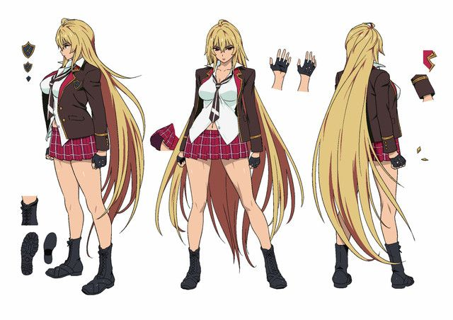 Anime Characters Ranked : Crunchyroll quot valkyrie drive mermaid character designs