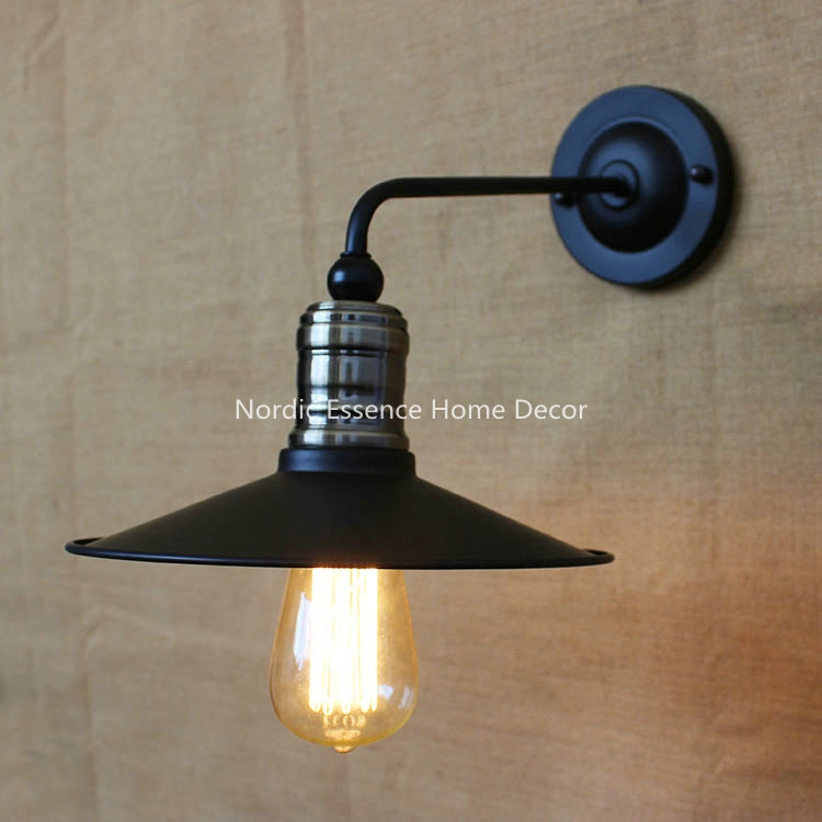 32.50$  Watch more here - http://ai9oe.worlditems.win/all/product.php?id=32517301335 - American Pastoral Spain upscale vintage industrial lighting fixture simple European decorative hotel bedside aisle wall lamp