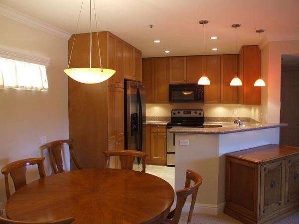 Room Kitchen Dining Lighting Ideas