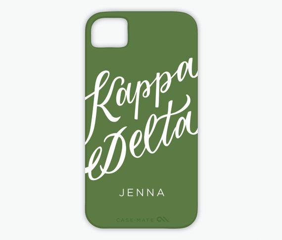 Personalized Kappa Delta Calligraphy by TheLettersCollection, $44.00