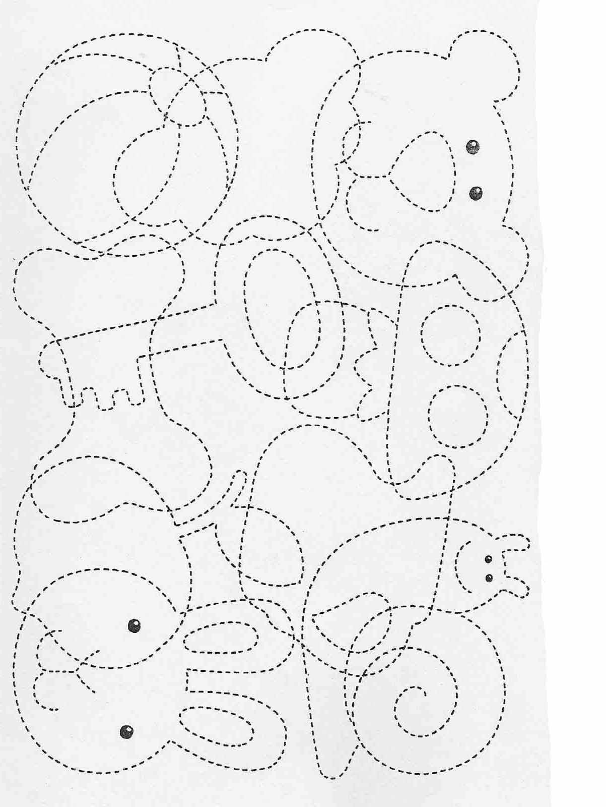 Printable Activities For Kids Complete The Drawings 73