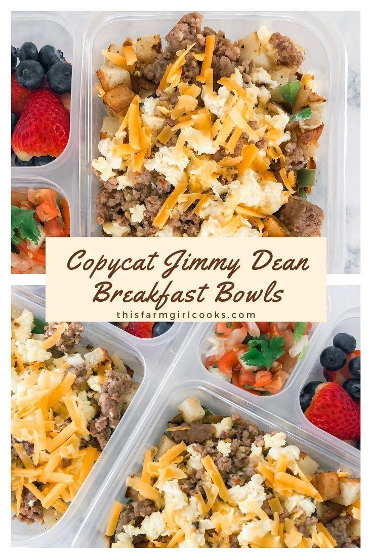 Jimmy Dean Breakfast Bowl Copycat - New Ideas #weeklymealprep