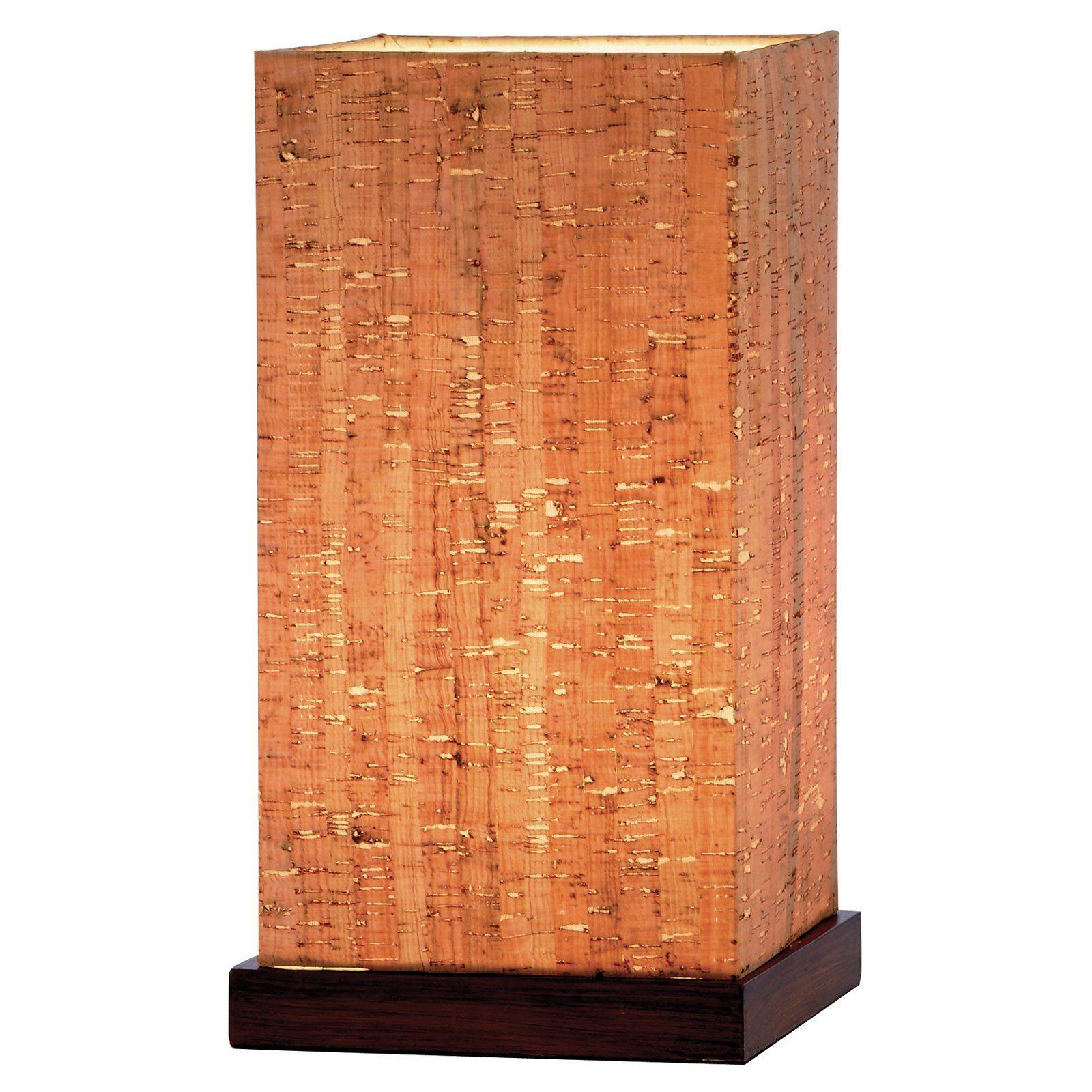 Adesso Sedona Floor Lamp In Walnut
