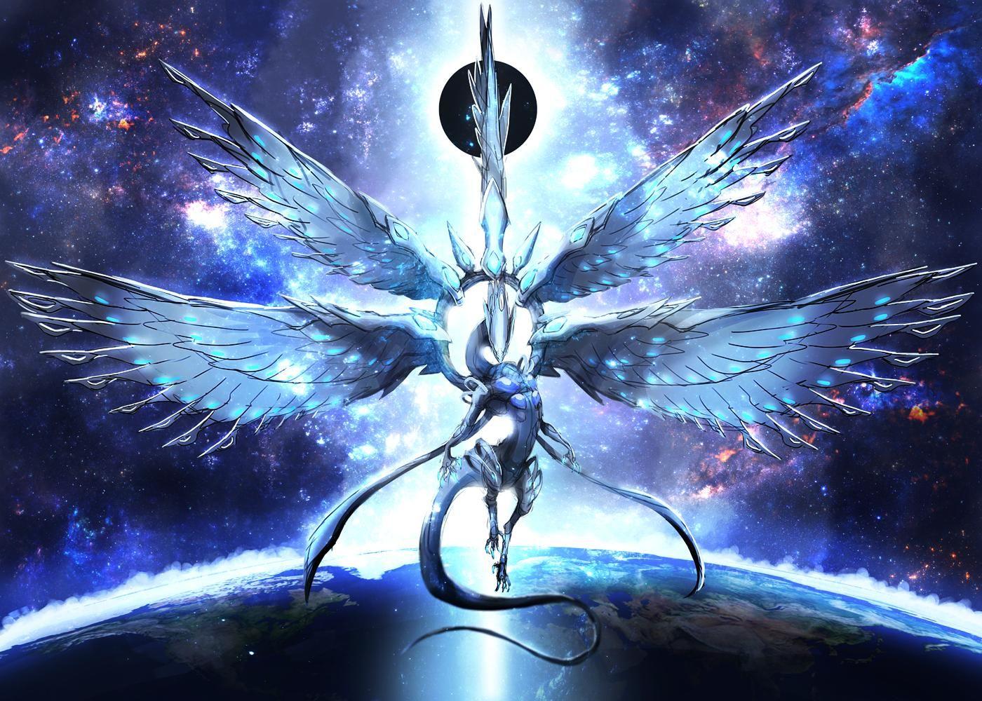 Blue Eyes White Dragon Wallpaper 773225 White Dragon Yugioh