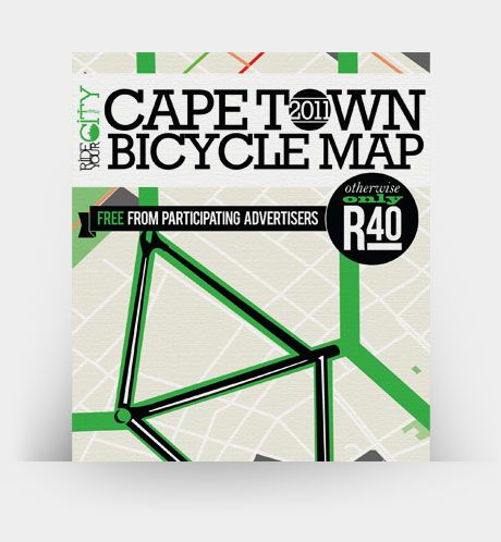 Safe Cycling Routes Cape Town Bicycle Map Pinyourcity Cycling