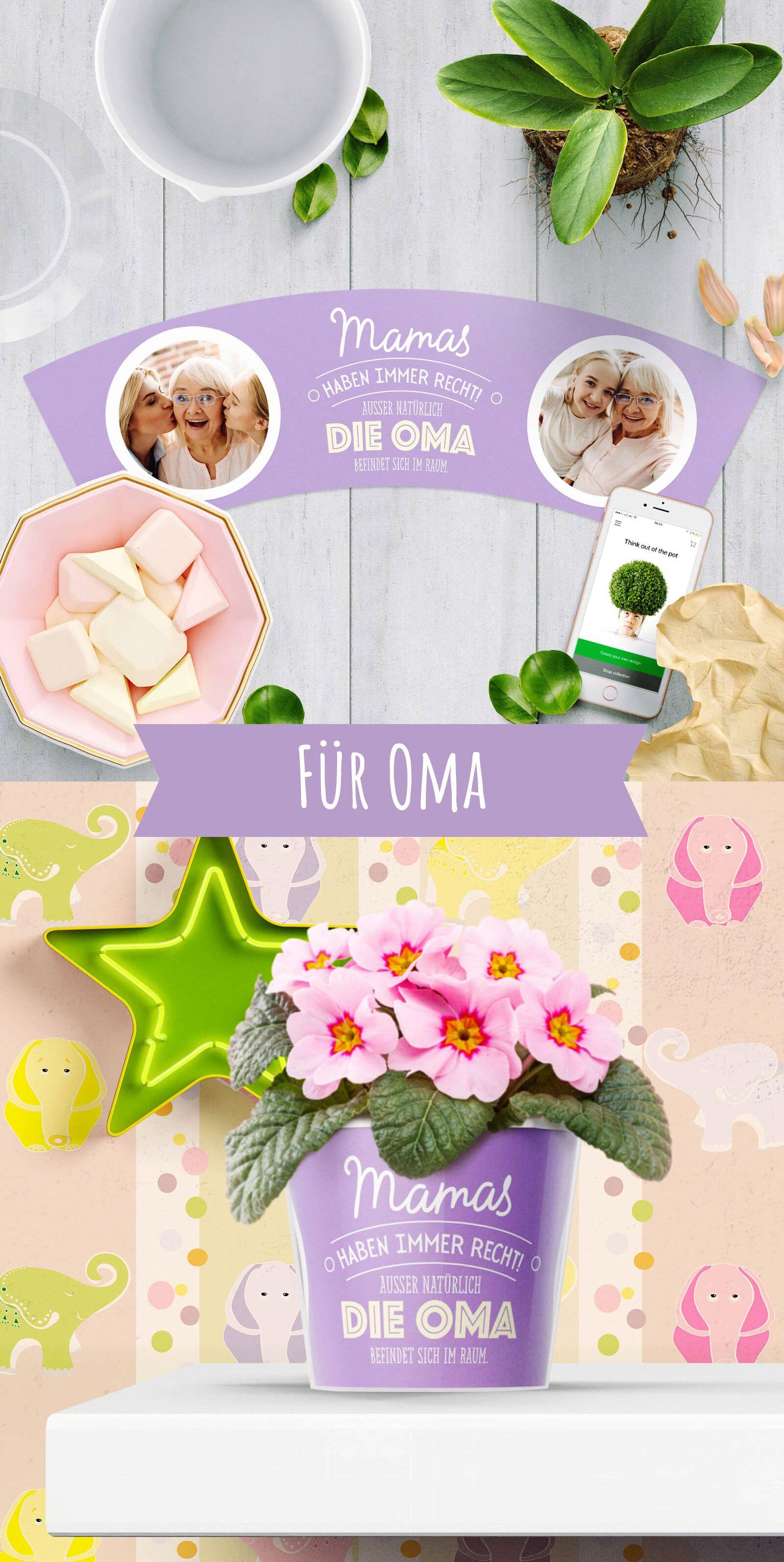 Lustiges Geschenk für Oma von Enkeln | Geschenke für Oma | Pinterest