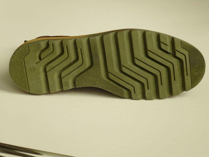 Materiale light con inserti fascia cuoio e guardolo cuoio bicolore