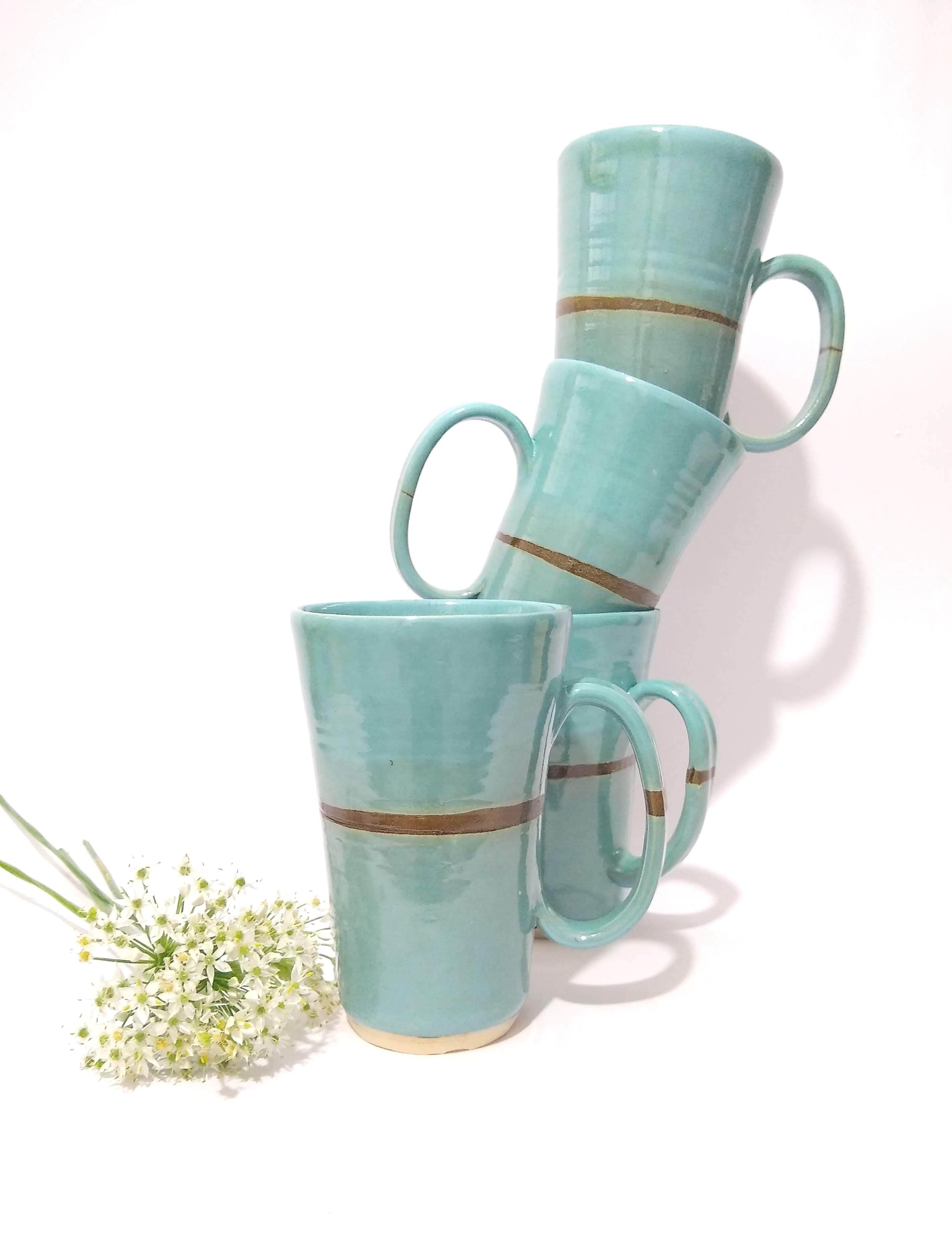 Large coffee mugs with extra large handle coffeemug