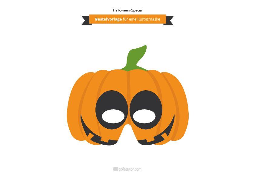 Dir fehlt noch ein Halloween-Kostüm? Wie wäre es mit einer Maske ...