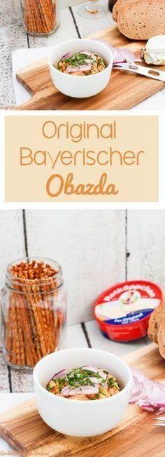Selbstgemachter Obazda - bayerische Brotzeit - C&B with Andrea