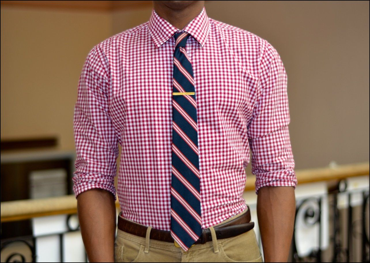 Tie-With-Checked-Shirt-Pink.jpg 1,284×914 ピクセル | Mens Fashion ...