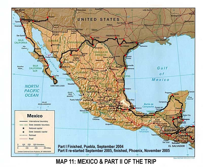 Map Of Northern Texas.Map Of Texas And Mexico Chapter 24 Northern Mexico Spain S