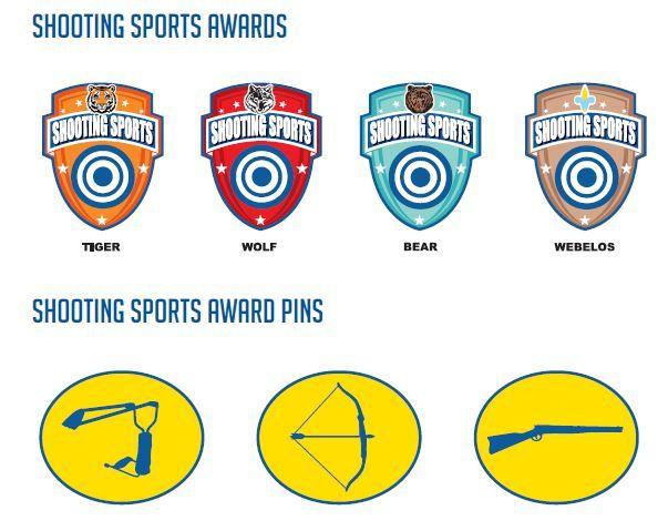 New Cub Scout Shooting Sports Awards Cub Scouts Pinterest Cub
