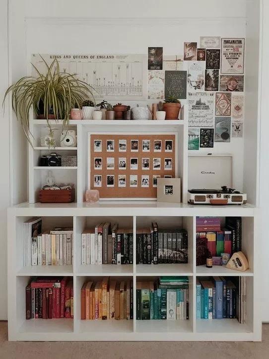 27+ creative dorm room storage organization ideas 13