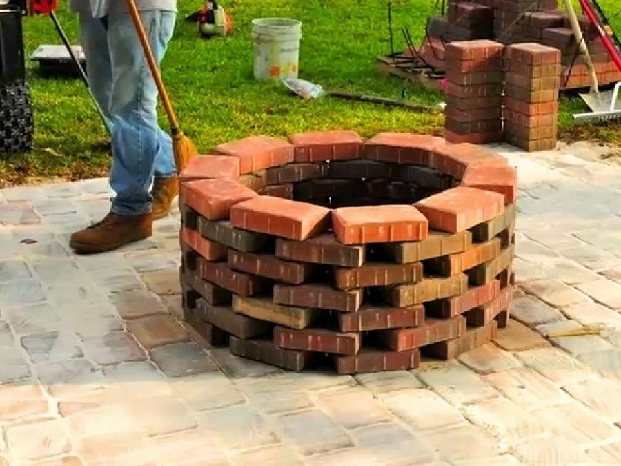 Hacer un fog n de ladrillo es facil simo patio for Construir jacuzzi casero
