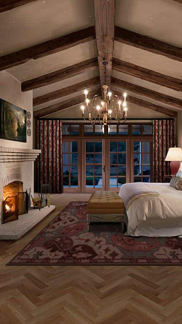 خلفيات قاشا لايف للتصميم في القصص صورة قصر Rustic Romance Bedroom House Design Dream Rooms