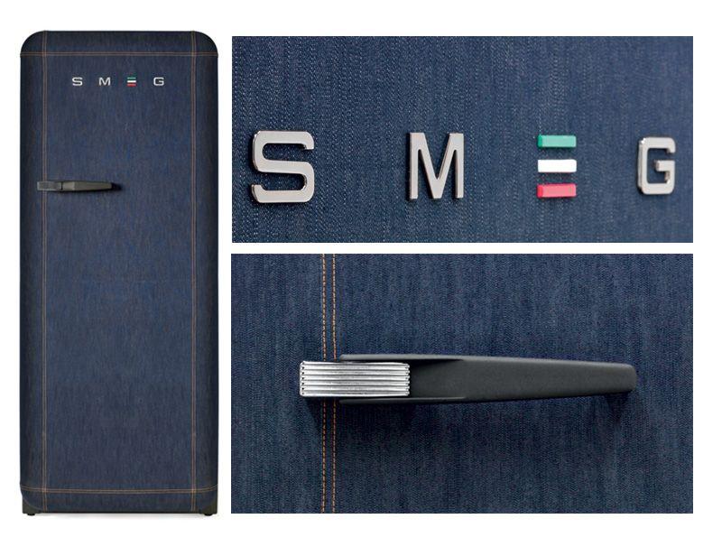 Smeg Kühlschrank Jeans : Chillin in denim smegs fab jeans refrigerator in a limited