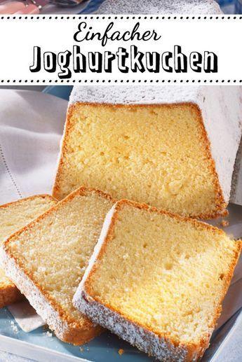 Joghurtkuchen - das einfache Rezept | LECKER