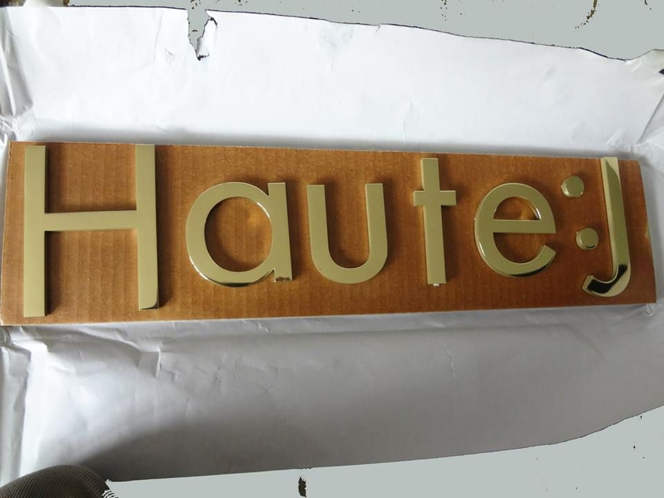 Metal Sign Letters For Sale Cutout Brass Sign Lettering Nyc  Mirror Polished Brass Metal