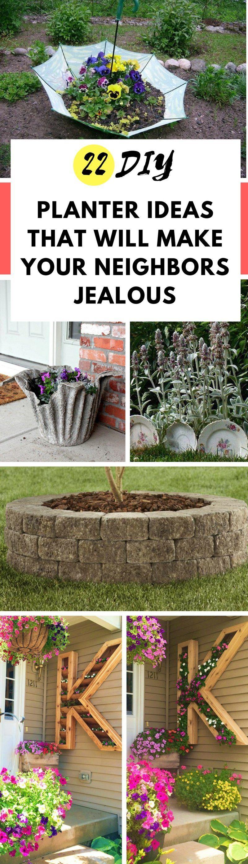 22 Incredible DIY Garden Bed And Planter