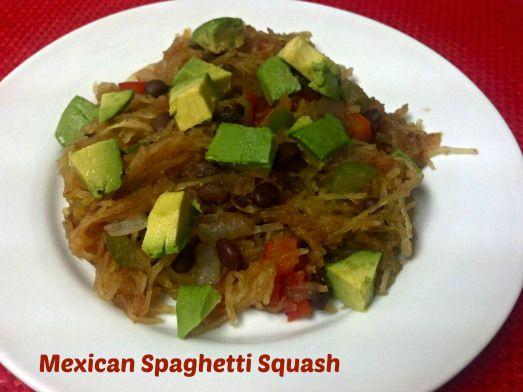 Mexican Spaghetti Squash - Clean Eating Veggie Girl