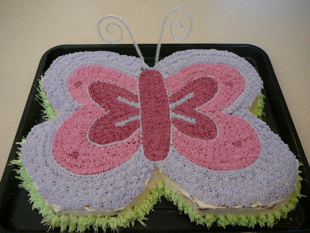 Butterfly Birthday Cake Decorating Ideas