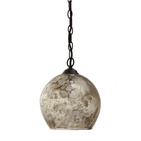 MCL39 - BIG BANG LANTERN - PALE OLIVE WITH BRONZED FITTINGS