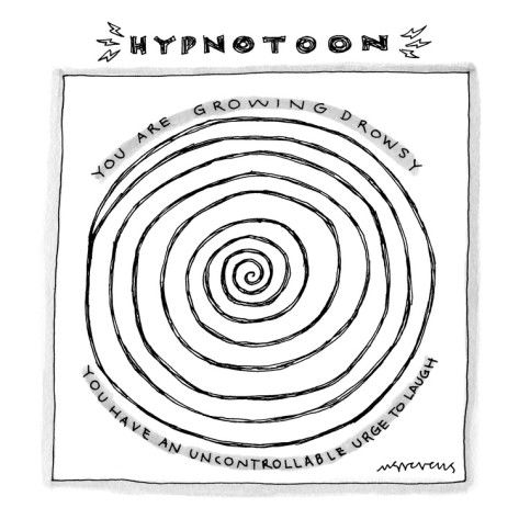 Hypnotoon A Picture Of A Large Swirl Similar To Those Used For Hypnosis Premium Giclee Print Mick Stevens Allposters Com Giclee Print Hypnosis Funny Blogs