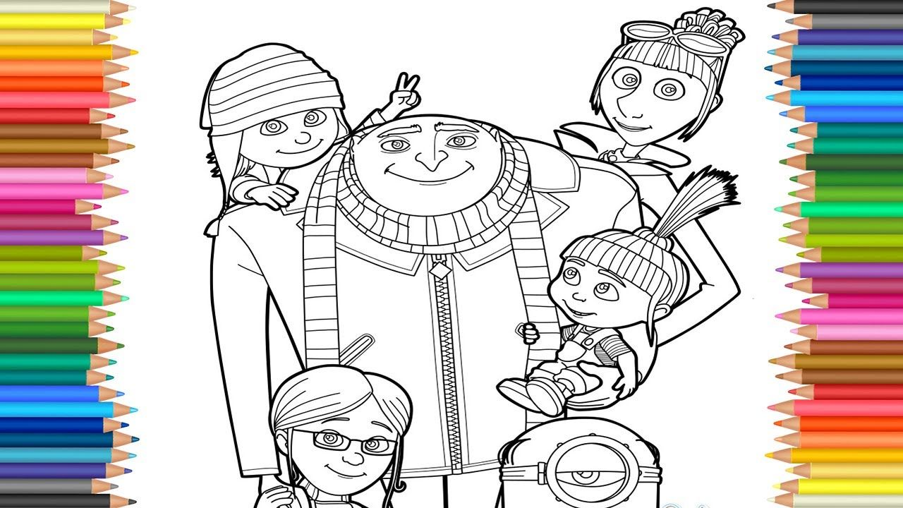 Creative Photo Of Despicable Me 3 Coloring Pages Albanysinsanity Com Cool Coloring Pages Halloween Coloring Pages Minion Coloring Pages