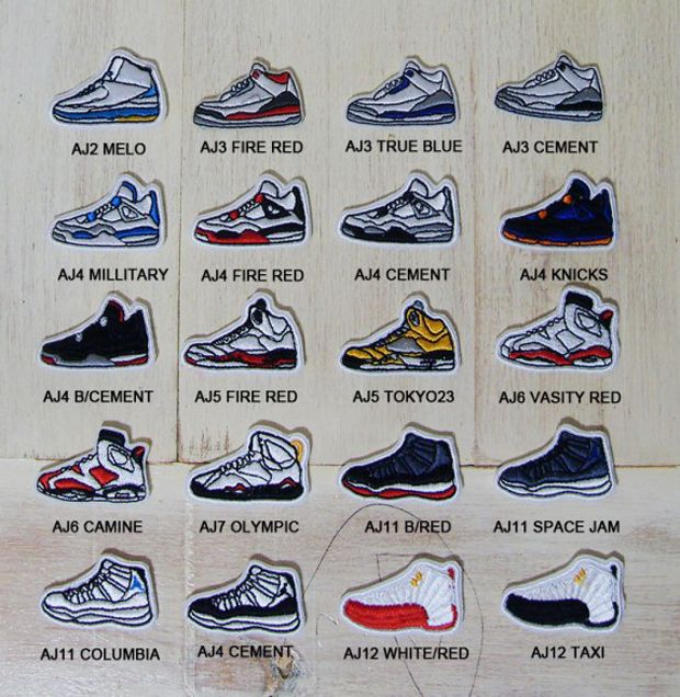 air jordan collection names