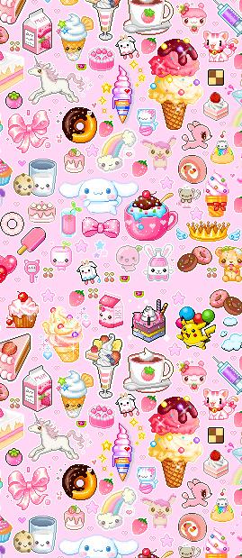 over cute via Tumblr Cute wallpapers, Kawaii wallpaper