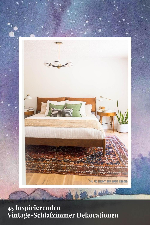 45 Inspirierenden Vintage Schlafzimmer Dekorationen Home Decor