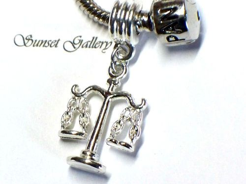 612dc0534 3-d scale of justice european bead slider charm | Bling Obsession ...