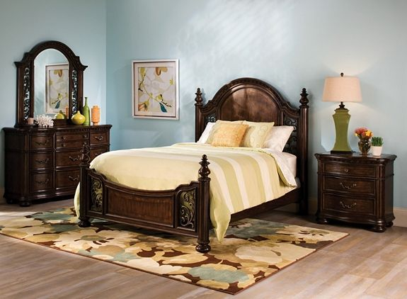 florence 4-pc. queen bedroom set | bedroom sets | raymour and