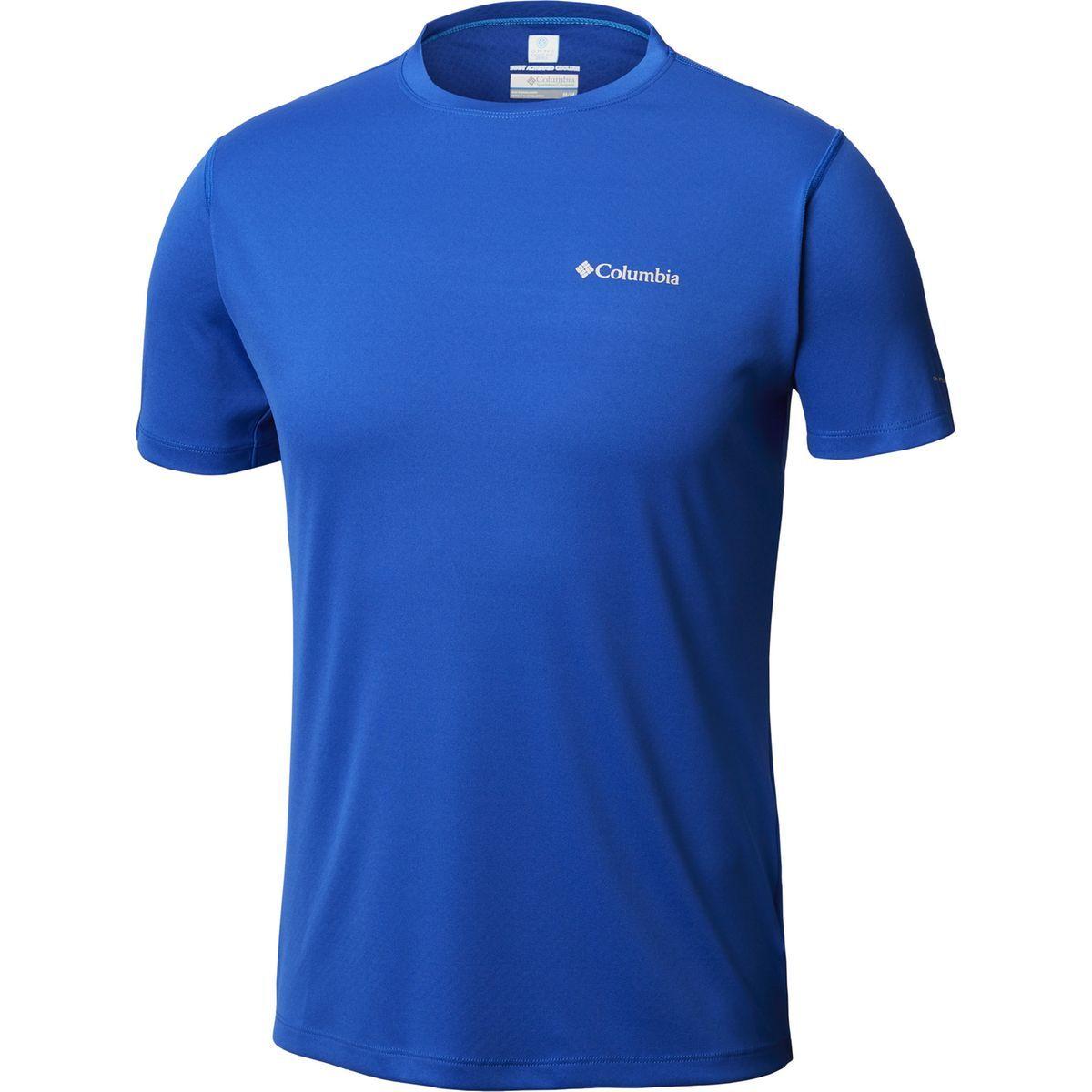 Zero Rules T shirt Manches Courtes Homme Bleu Taille