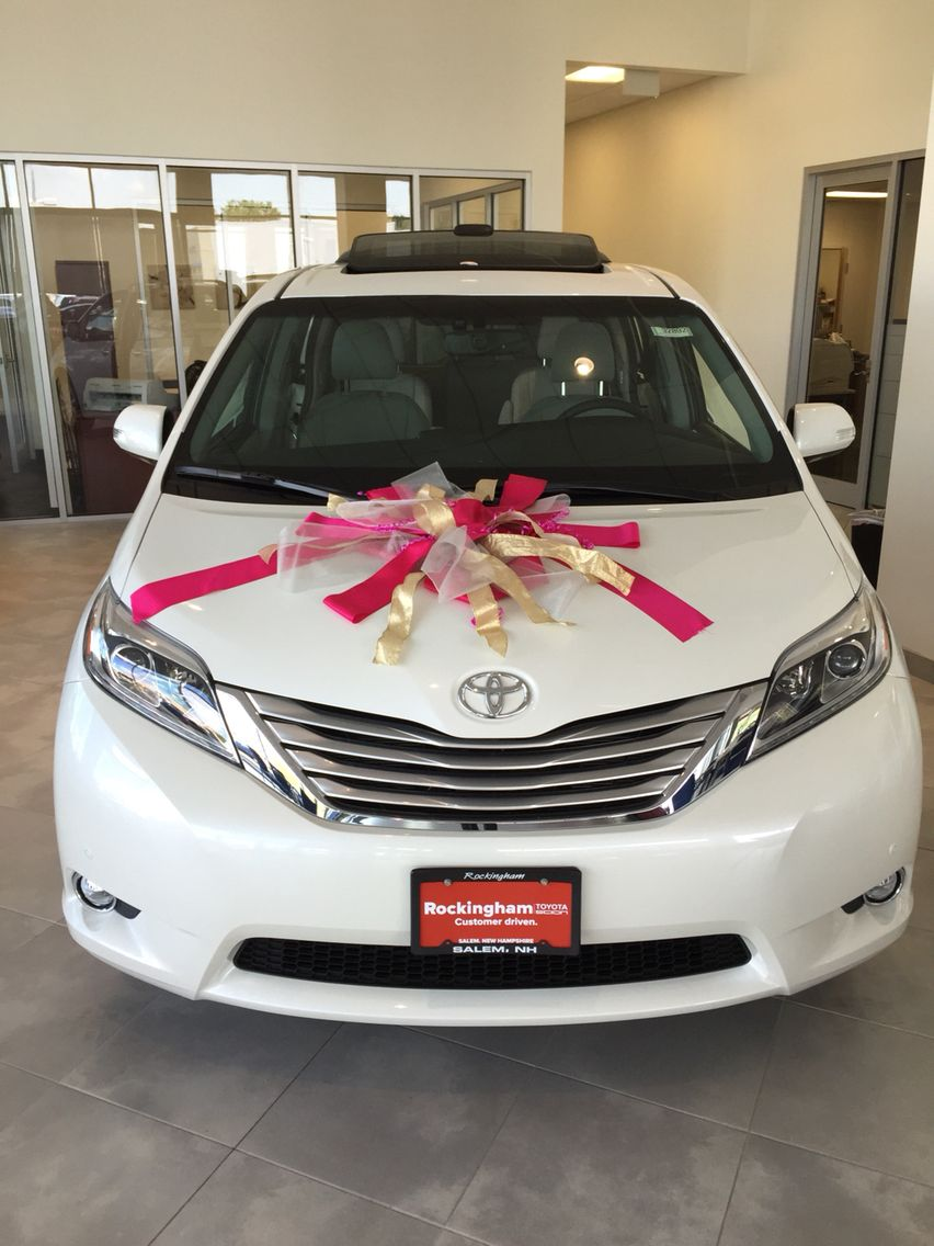 Your next minivan even comes with a bow at rockingham toyota