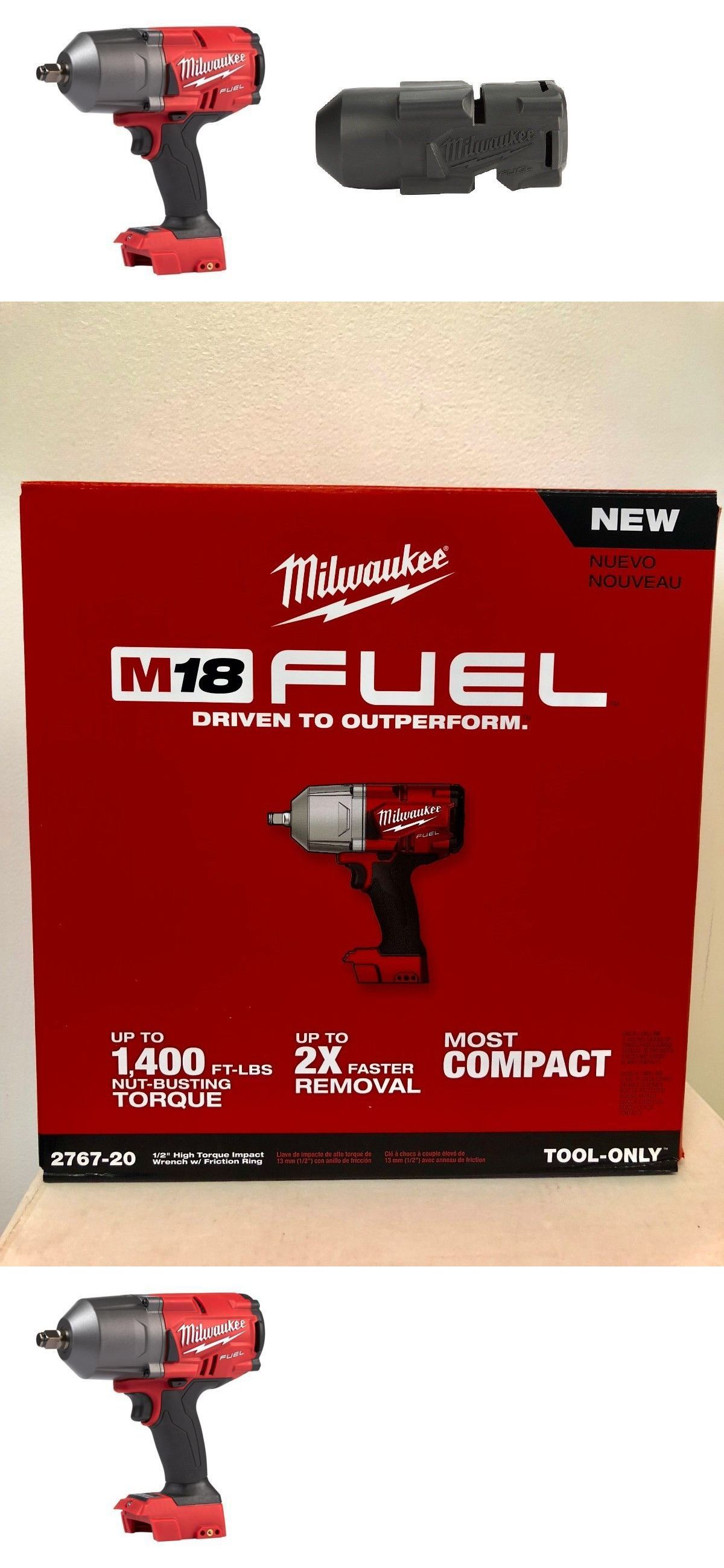 Milwaukee M18 FUEL High Torque Impact Wrench Boot 49-16-2767