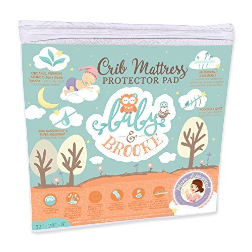 Why Buy Baby Brooke S Breathable Crib Mattress Pads Our Crib Pad Is The Most Luxuriously Soft And Crib Mattress Protector Crib Mattress Cover Baby Mattress