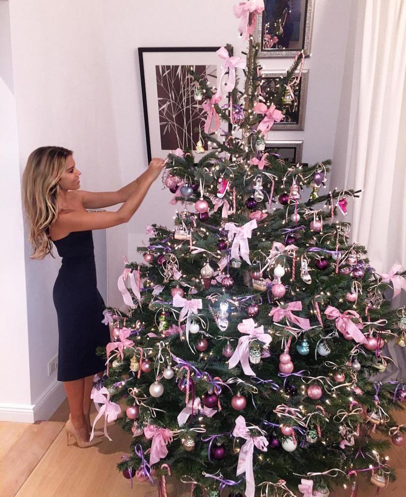 Weihnachten rosa - pink Christmas #kerstboomversieringen2019