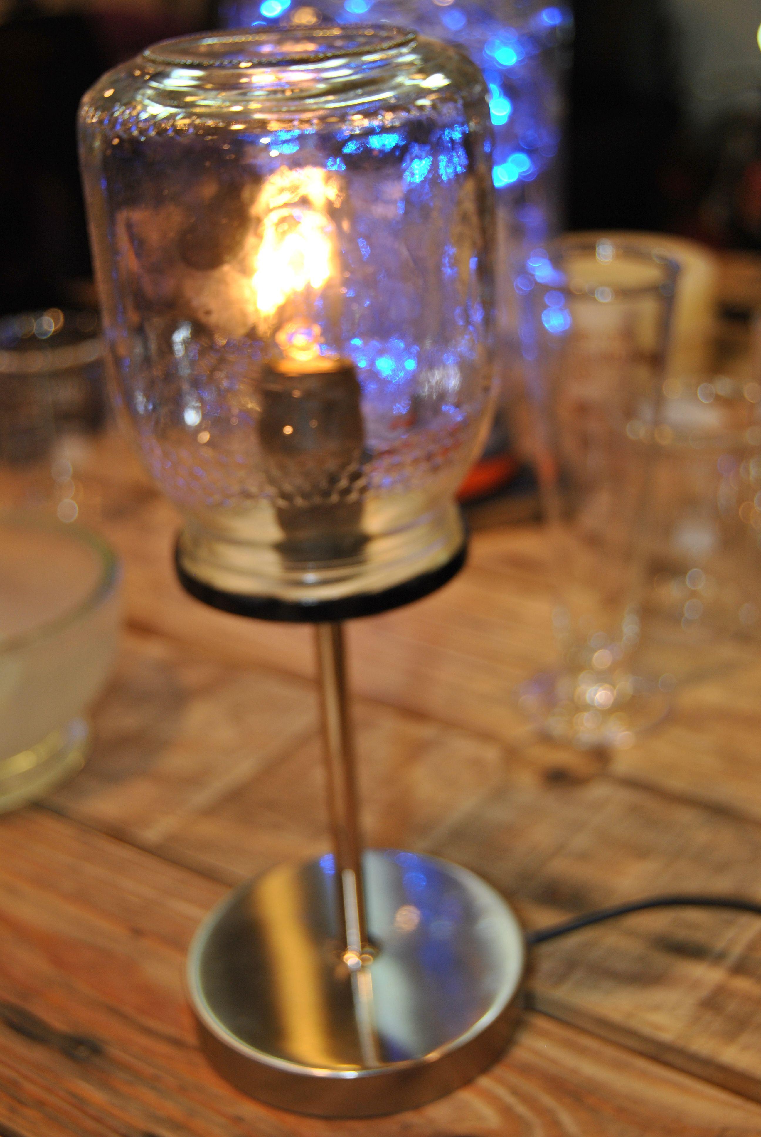 de de para de Reciclaje vidrio botes una lámpara realizar FT1lKc3J