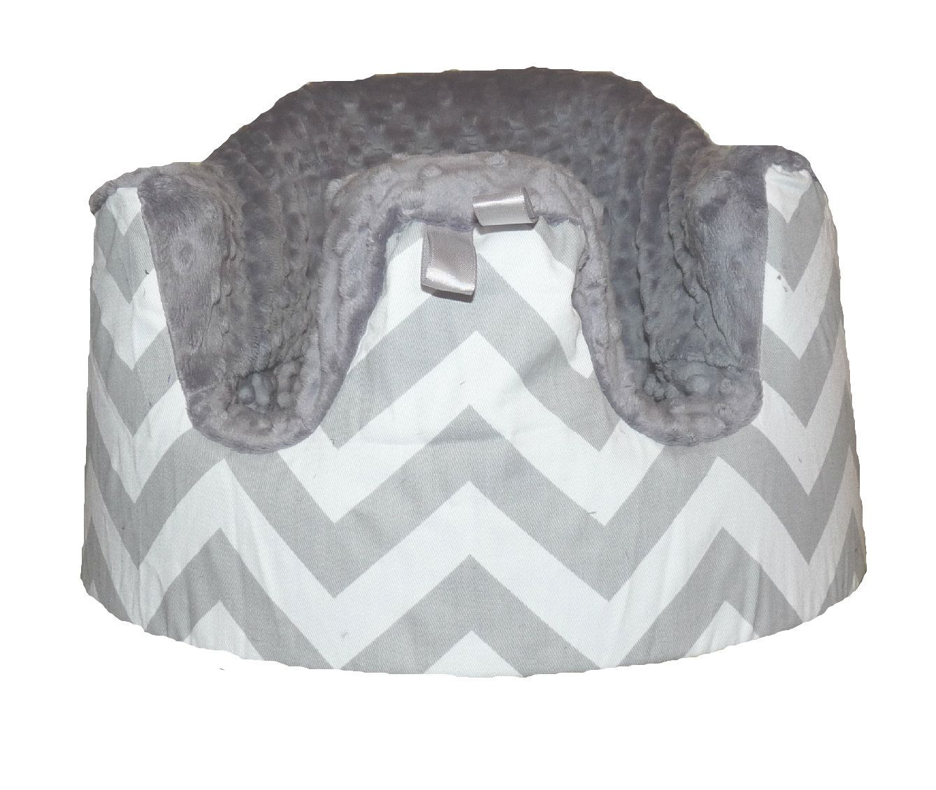 Home of the Orignial Bumbo Seat COVER in Chevron Gray with Gray ...
