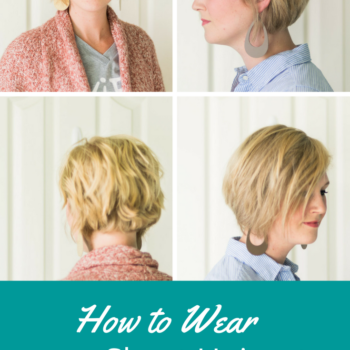 how to wear a short haircut with fine hair