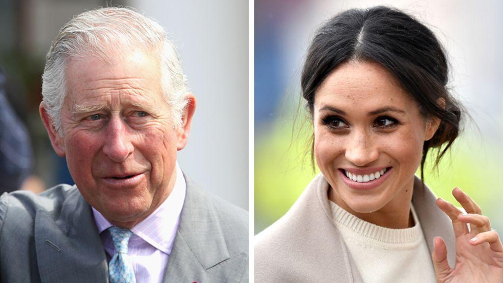 Royal wedding 2018: Prince Charles to walk Meghan down the aisle - BBC News