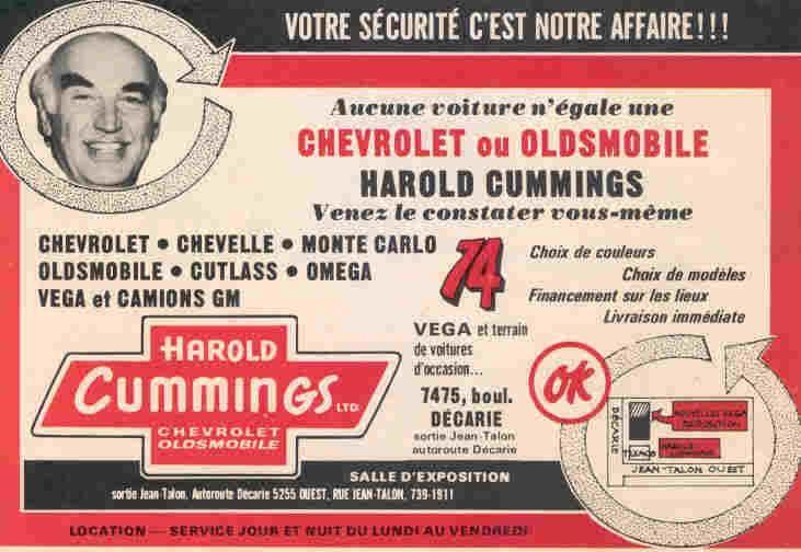 Harold Cummings Car Dealer Car Hometown